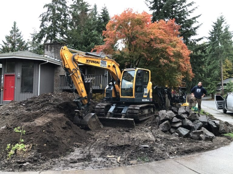 snohomish county earth moving